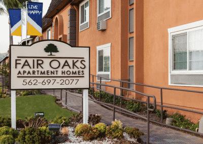 Welcome home to Fair Oaks Apartment Homes